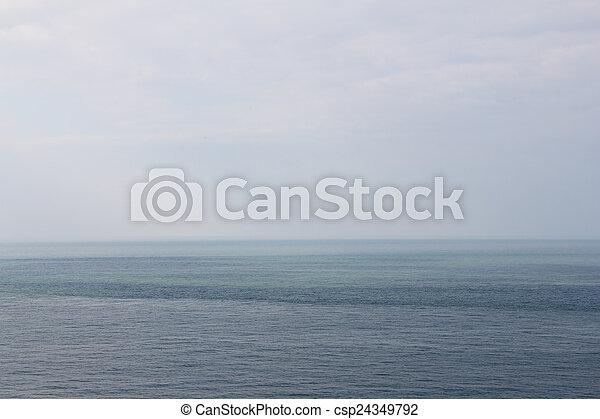 Blue sea - csp24349792