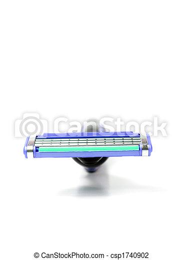 Blue shaver - csp1740902