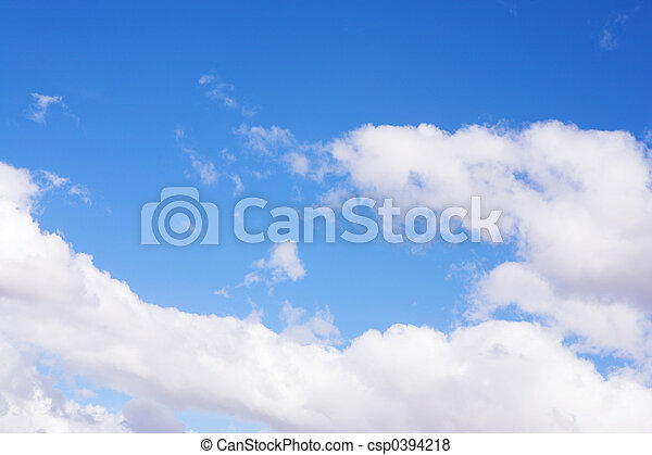 Blue Sky and Clouds #5 - csp0394218