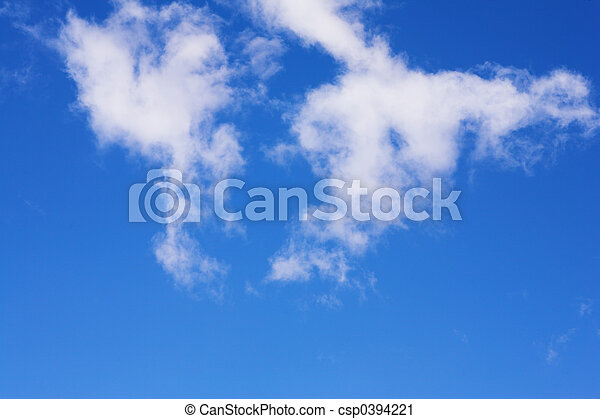 Blue Sky and Clouds #6 - csp0394221