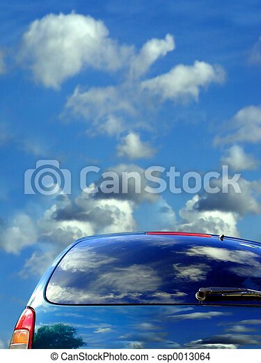Blue sky and clouds - csp0013064