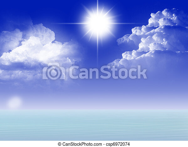 blue sky - csp6972074