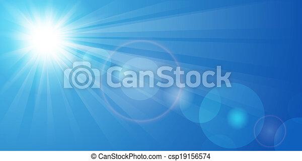 Blue sky - csp19156574