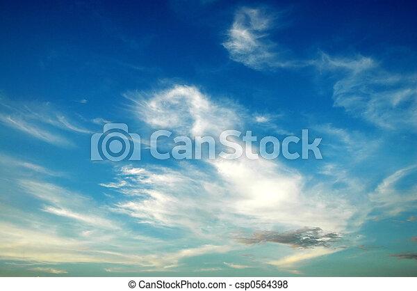 Blue sky - csp0564398