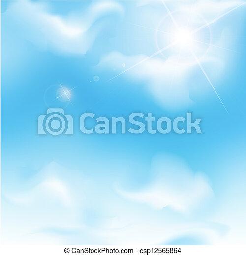 blue sky - csp12565864