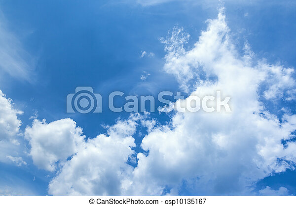 blue sky - csp10135167