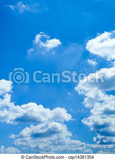 blue sky - csp14381354