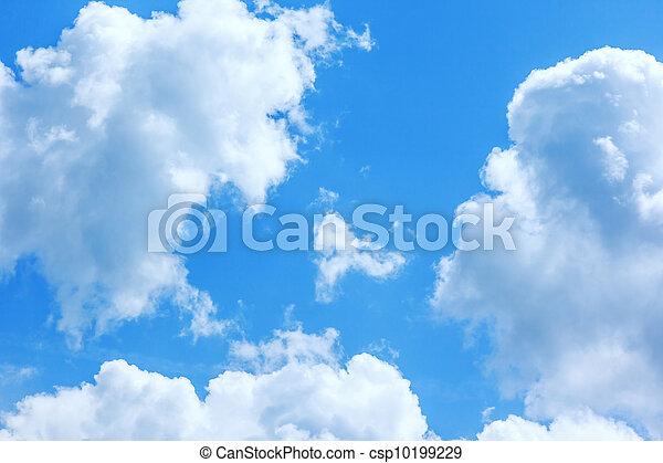 blue sky - csp10199229