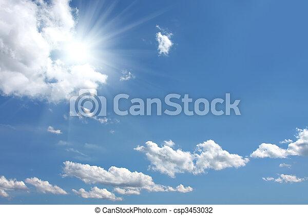 blue sky - csp3453032