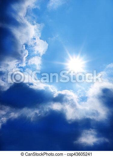 blue sky - csp43605241