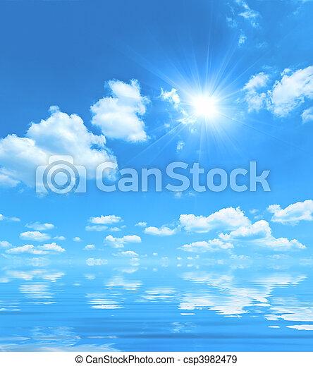 blue sky - csp3982479