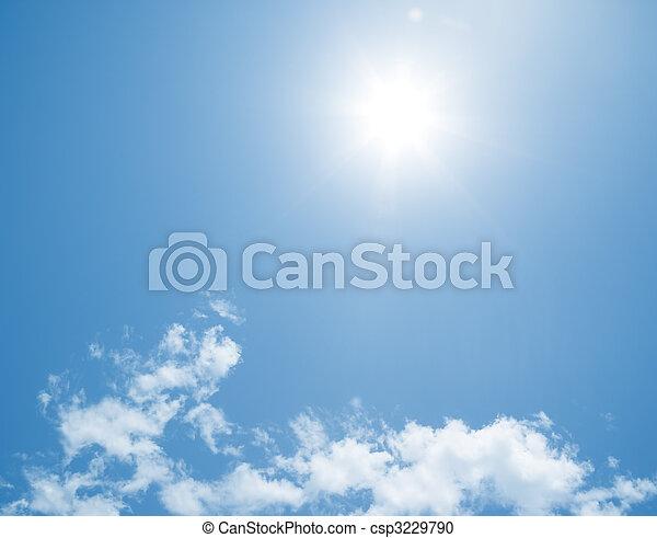 blue sky - csp3229790