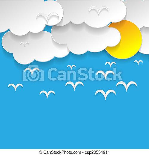 Blue sky - csp20554911