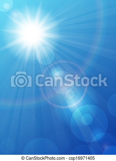 Blue sky - csp16971405
