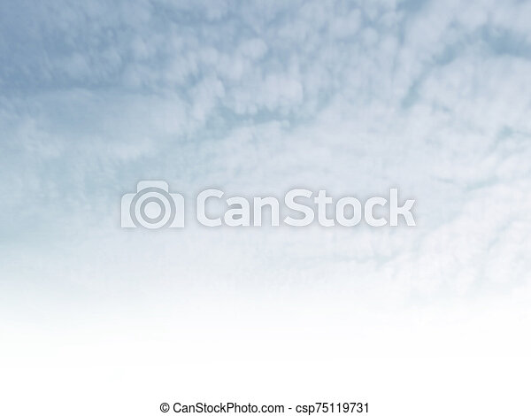 Blue sky with clouds as background - csp75119731