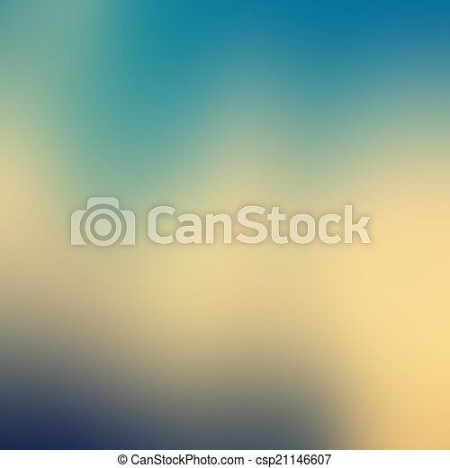 Blue sky with clouds - csp21146607