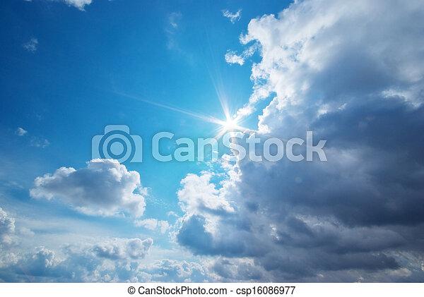 Blue skylight - csp16086977