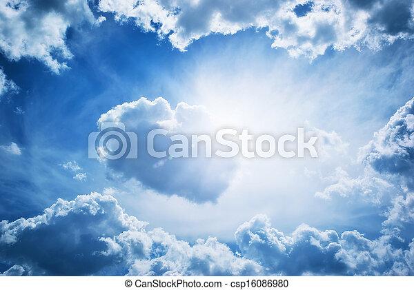 Blue skylight - csp16086980