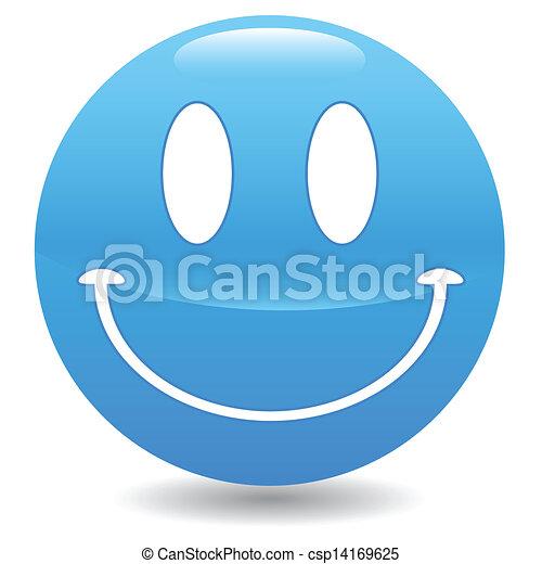 Blue smile - csp14169625