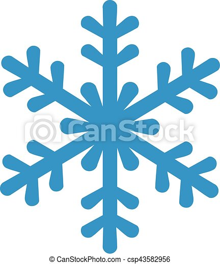 blue snowflake icon clipart vector search illustration drawings rh canstockphoto com white snowflake vector art free snowflake vector clip art