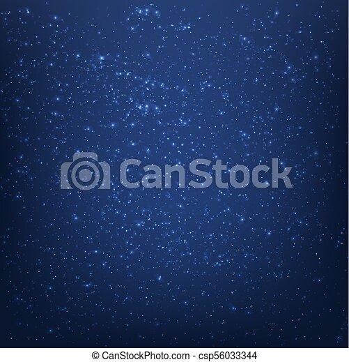 Blue Space Background - csp56033344