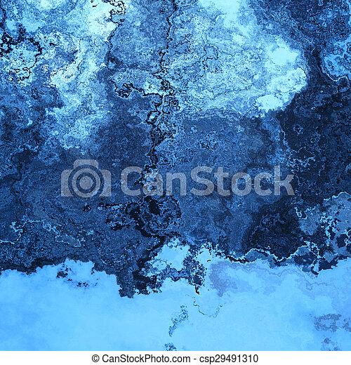 Blue splashes - csp29491310