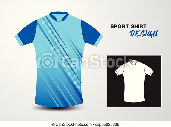 T Shirt Design Line Art : Blue sport shirt design vector illustration search