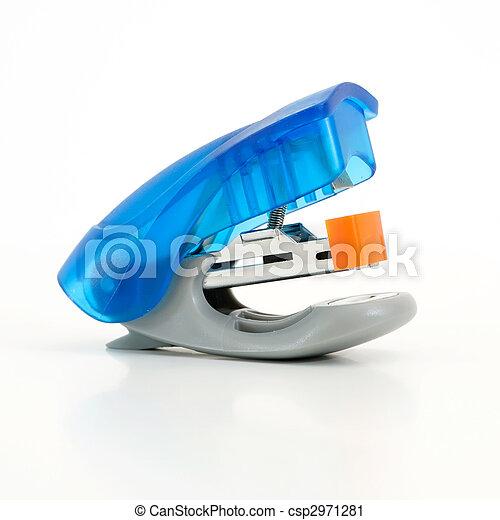 blue Stapler - csp2971281