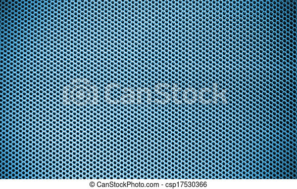 Blue Steel mesh screen background and texture - csp17530366