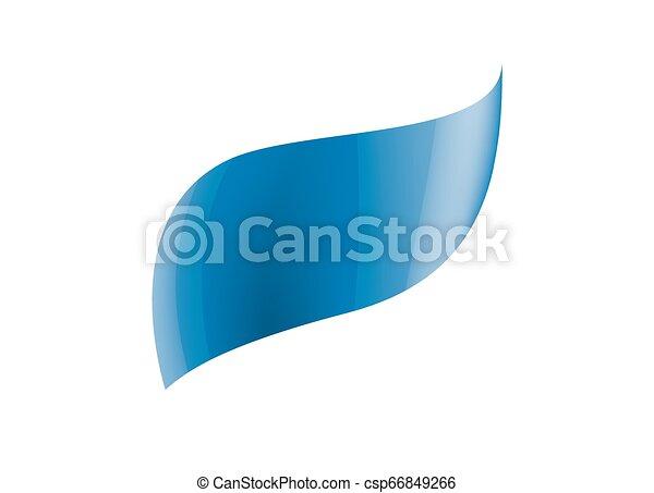 blue sticker on white background. Vector illustration - csp66849266