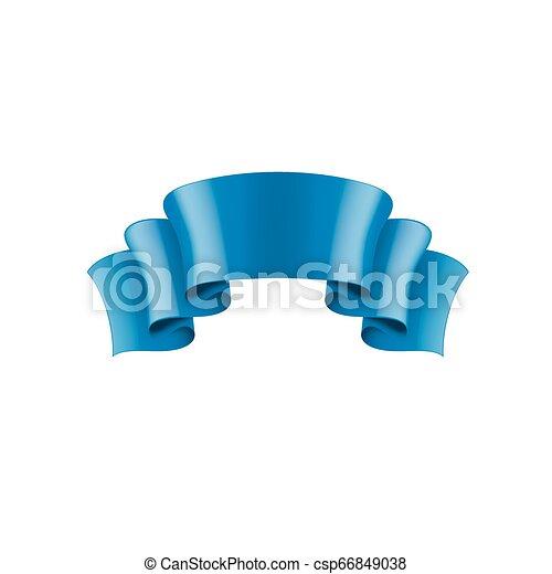 blue sticker on white background. Vector illustration - csp66849038