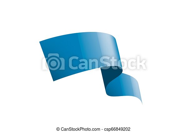 blue sticker on white background. Vector illustration - csp66849202