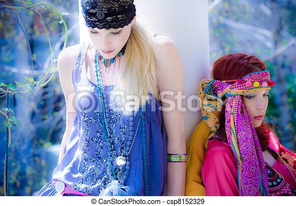 blue summer dream - csp8152329