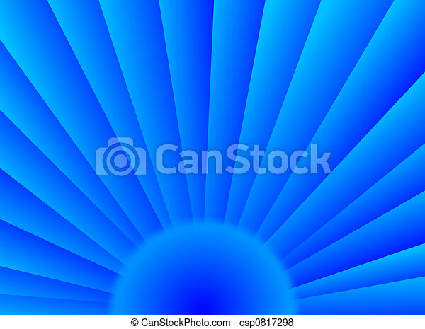 Blue sun - csp0817298