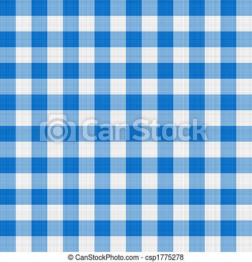 blue table cloth - csp1775278