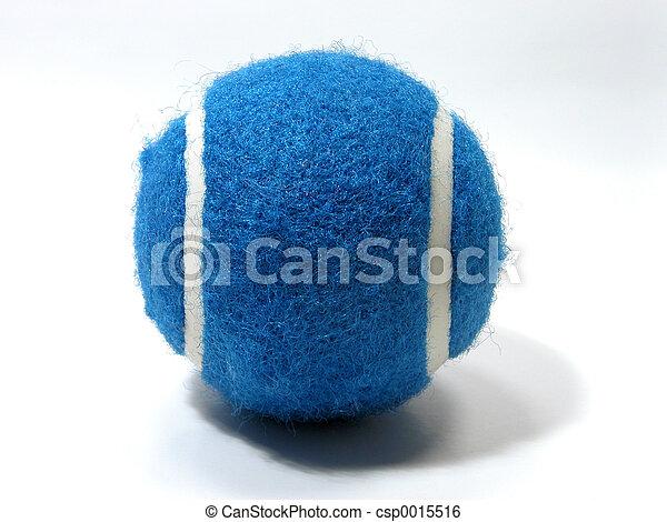 Blue Tennis Ball - csp0015516