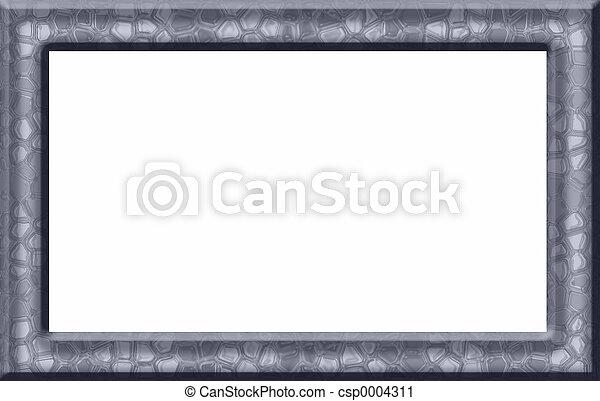 Blue Textured Frame - csp0004311