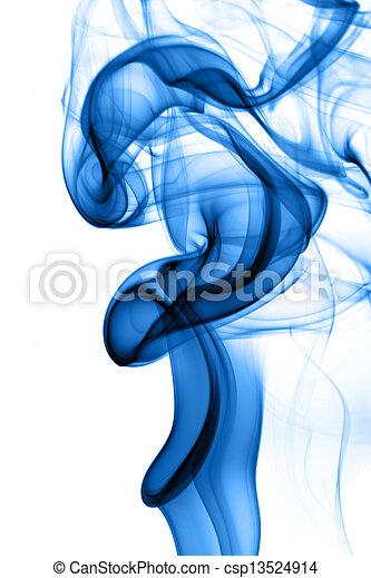 Blue tobacco smoke - csp13524914