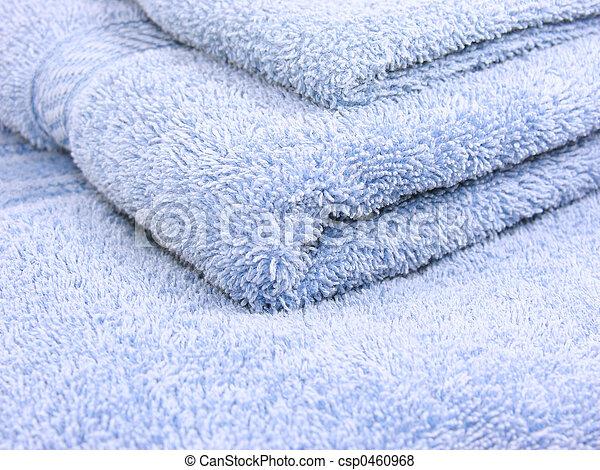 Blue Towels - csp0460968