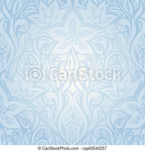 Blue wallpaper background design - csp63540257