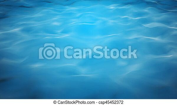 calm blue water. Unique Calm To Calm Blue Water