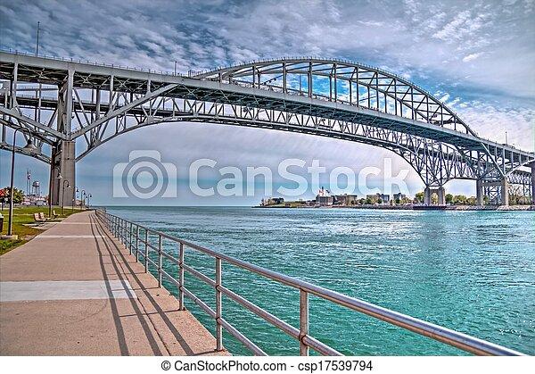 Blue Water Bridges - csp17539794