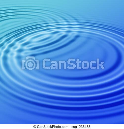 Blue Water - csp1235488