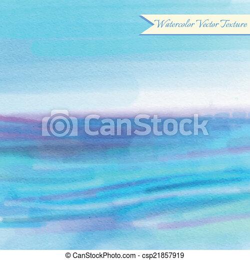 Blue watercolor pattern - csp21857919