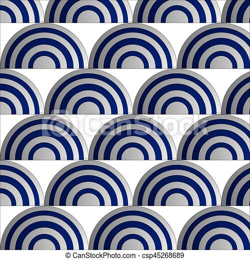 Blue wave - csp45268689