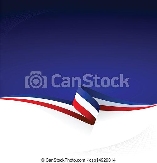 Blue white red - csp14929314