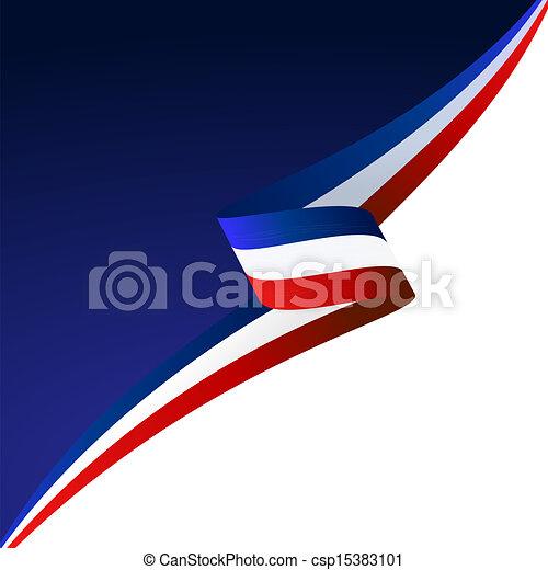 Blue white red - csp15383101