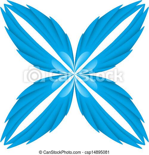 Blue wings. - csp14895081