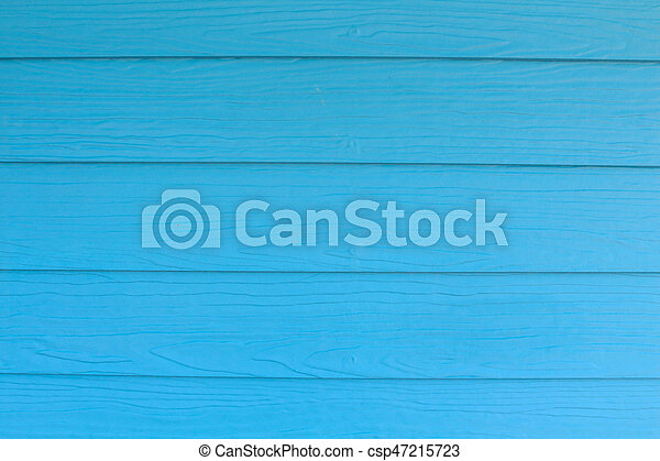 blue wood background - csp47215723