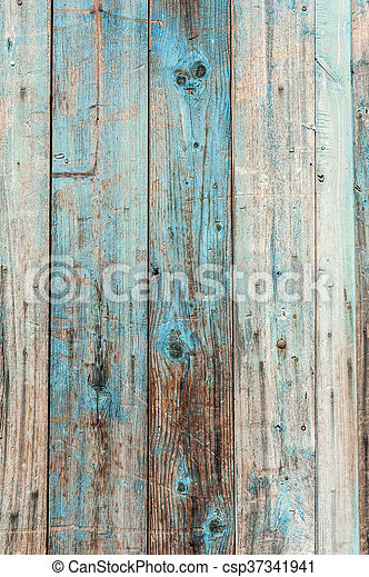 Blue Wooden Texture Vintage Wood Background With Peeling Paint